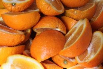 fruchtige Orangen