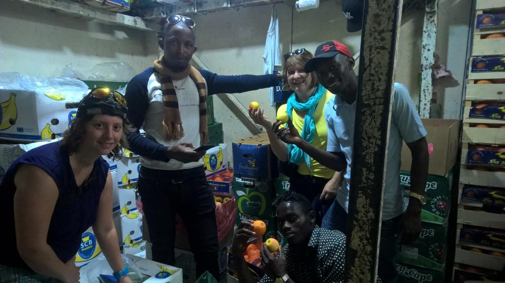 In der Kühlbox
